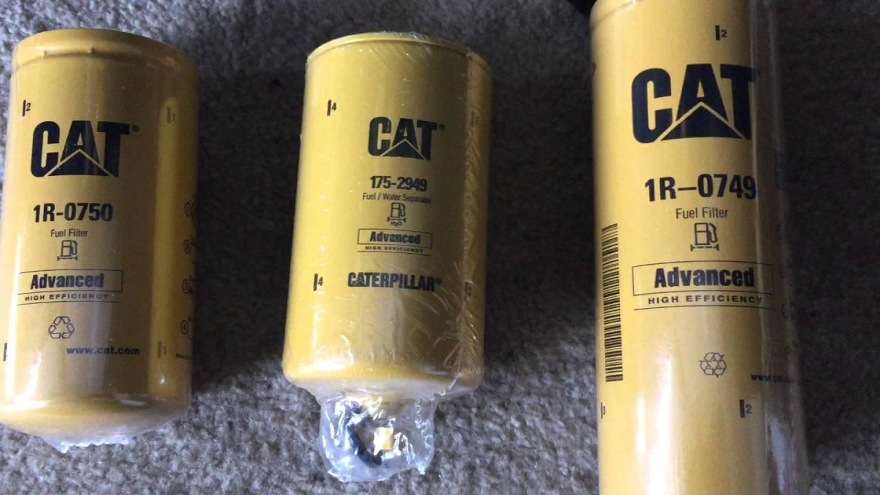 Duramax LMM Fass Lift Pump Cat Filters Part 1
