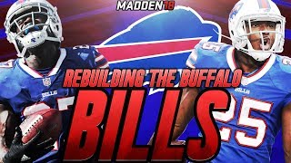 Madden 18 Connected Franchise | Rebuilding The Buffalo Bills | BEST DRAFT CLASS OF ALL TIME!