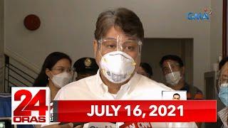 24 Oras Express: July 16, 2021 [HD]