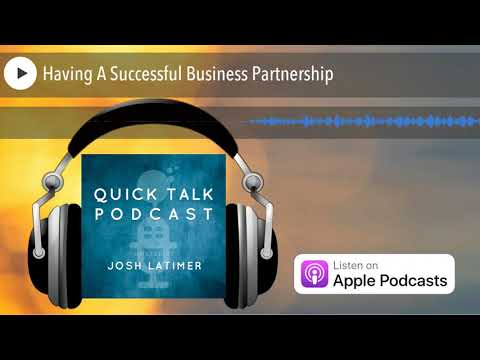 Having A Successful Business Partnership