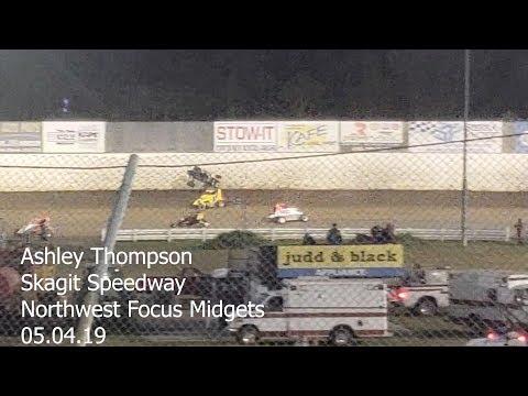 Ashley Thompson NWFM at Skagit Speedway 05.04.19