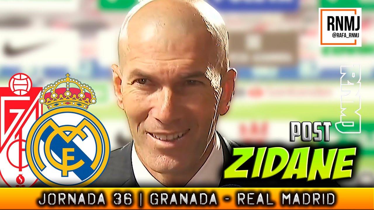 Declaraciones de ZIDANE a RMTV post Granada 1 - 4 Real Madrid (13/05/2021)