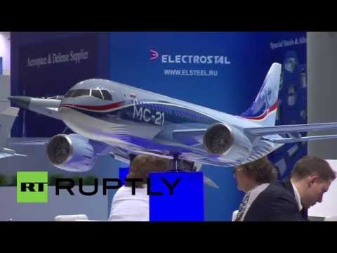 Germany: Sanctions can't stop progress as Russian tech companies hit Berlin air show