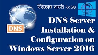 How to install and configure DNS Server on Windows Server 2016 (step by step) | DNS Server Bangla