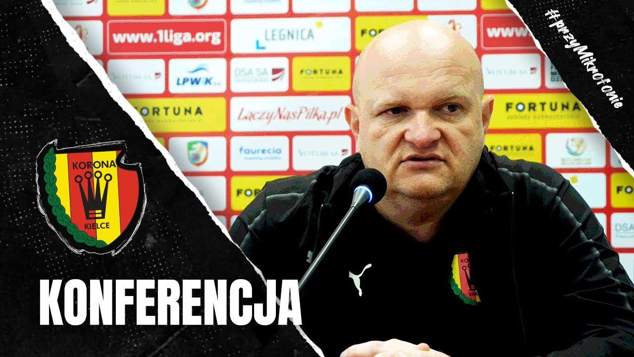 Konferencja prasowa po meczu Miedź Legnica - Korona Kielce 1:1 (26.09.2020)