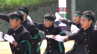 応援合戦 大洲高校、豫章 2012