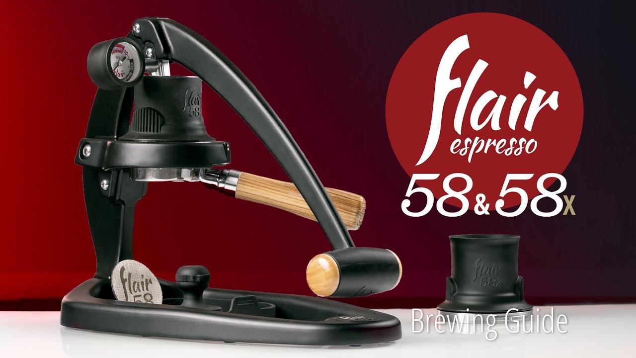 Flair Espresso Maker 58 & 58x | Brewing Guide