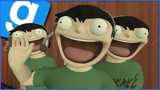Gmod Guess Who Funny Moments: Crate Sandwich, Graviton Suicide & Most Epic Ragdoll Fakeout!