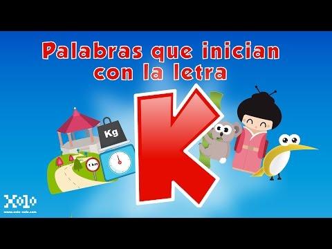 Letter K in Spanish for children - Videos Aprende