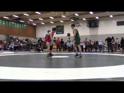 2014 Huskie Open: 54 kg Christian Nori vs. Conner MacLachan