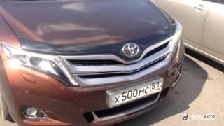 Toyota Venza Дефлектор капота Hood protection (AVS Aeroskin™ 322008)(, 2014-08-06T14:01:43.000Z)