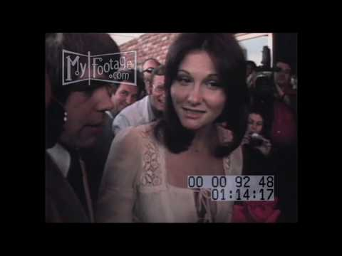 LINDA LOVELACE NOTORIOUS 'DEEP THROAT' ACTRESS Stock Footage HD