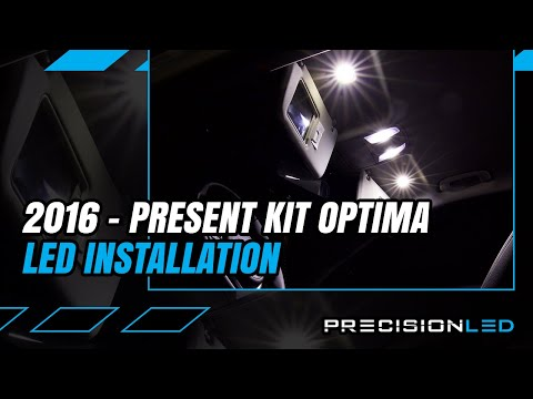 Kia Optima LED Interior How To Install – 4th Gen | 2016+