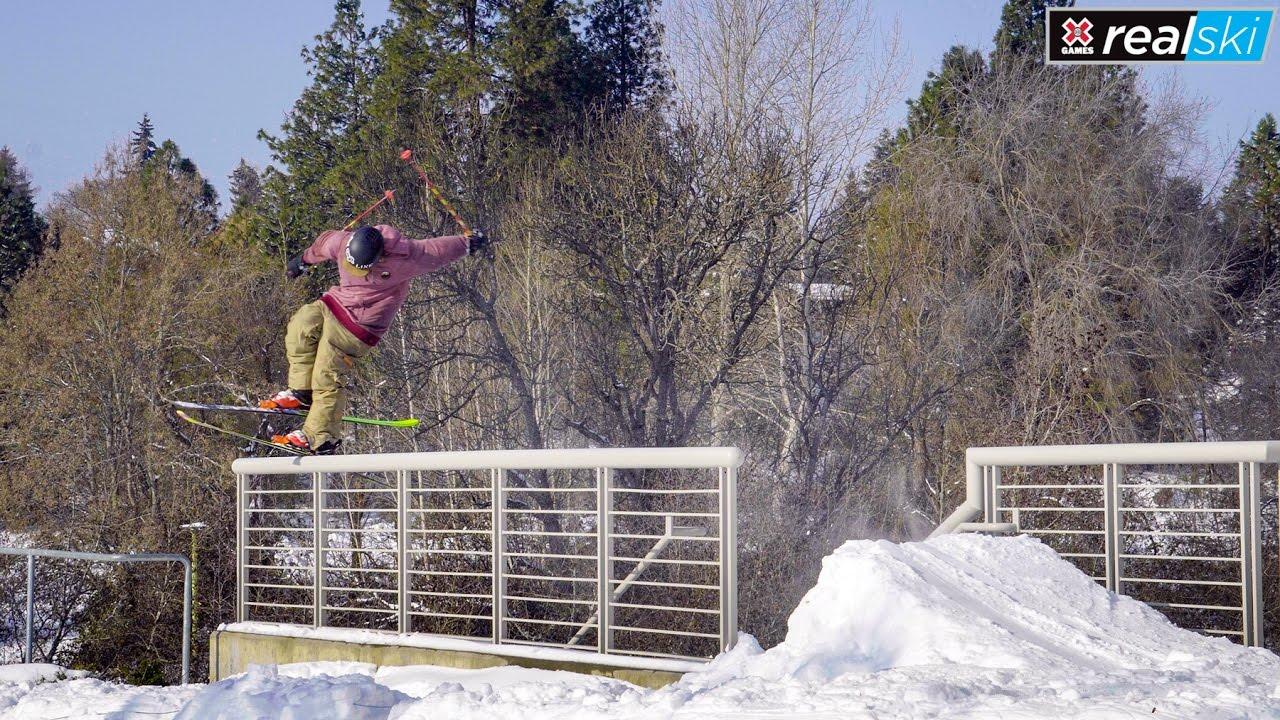 LJ Strenio   X Games Real Ski 2017