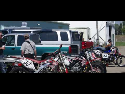 Beaver Cycle Club AMA Flat Track Racing at the Dodge County Fairgrounds Speedway