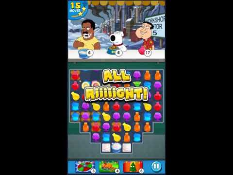 Family Guy Another Freakin Mobile Game Level 593 - NO BOOSTERS