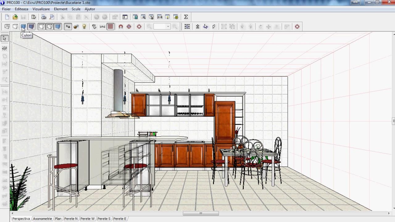Pro100 Kitchen Furniture And Interior Design Software ~ Pro furniture and interior design software