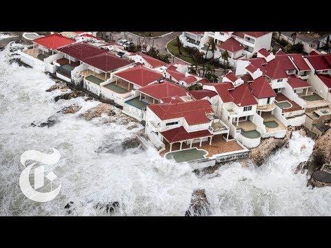 St. Martin Islanders Survey Hurricane Irma's Destruction