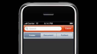 Free iPhone App for Document Management Software like Alfresco or other Enterprise Solutions