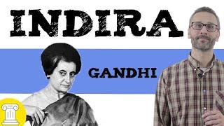 Indira Gandhi ✊ biografía resumida
