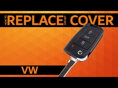 VW – How to replace car key cover