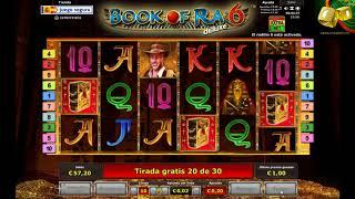 Book of Ra 6 Deluxe - Bonus Explorador 50 Juegos Gratis
