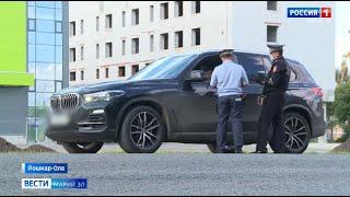 В Марий Эл сотрудники ГИБДД проверяли «тонированные» автомобили