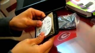 Xbox 360 Slim Hard drive installation   YouTube