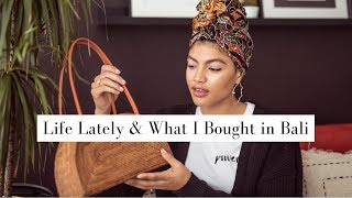 Life Catch Up & What I Bought in Bali | Samio