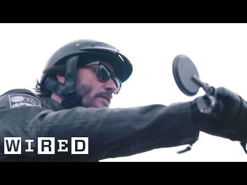 Inside Keanu Reeves' Custom Motorcycle Shop | WIRED