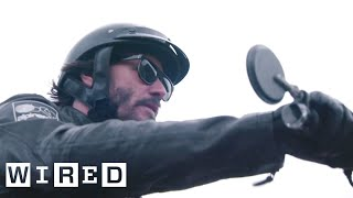 Inside Keanu Reeves' Custom Motorcycle Shop | WIRED thumbnail
