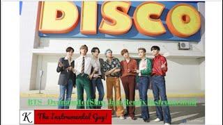 (Official Instrumental) BTS - Dynamite (Slow Jam Remix)