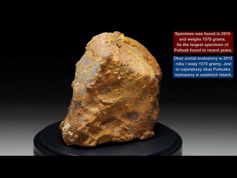 METEORITES360° - PUŁTUSK Chondrite H5 - 1570 gram