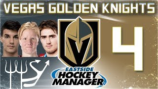YEAR 1 DRAFT | Golden Knights Eastside Hockey Manager - Ep. 4