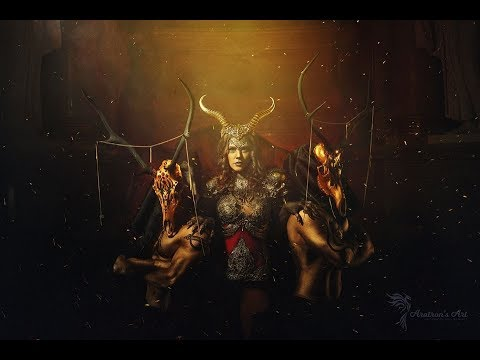 Aratron´s Art BTS video from Pagan photoshooting for Hysteria Machine