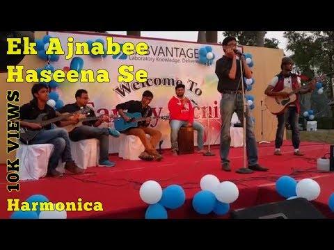 Ek Ajnabee Haseena Se | Harmonica Cover | Arindam Sen (Band