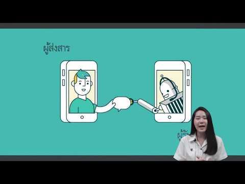 """""""ความรู้พื้นฐานเกี่ยวกับการสื่อสาร"""" ภาษาไทยเพื่อการสื่อสาร"""