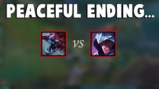 The Most Peaceful Ending on 1v1 Ever at LCS ... |  Funny LoL Series #144