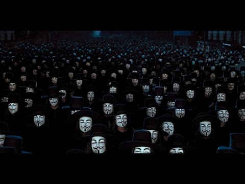 V For Vendetta Music  Tchaikovsky  1812 Overture