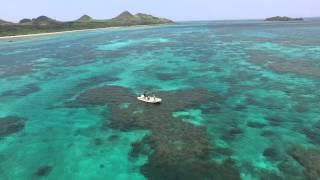 ドローン 石垣島最北端を飛ぶ 4K空撮 八重山空中さんぽ