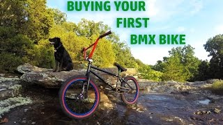 Buying Your First BMX Bike