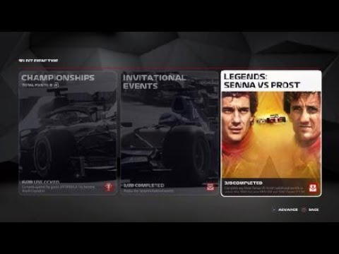 F1® 2019 LEGENDS EDITION CONTENT |