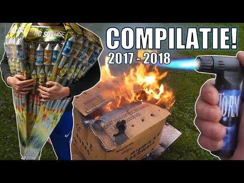 VUURWERK COMPILATIE! | 2017-2018