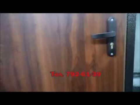 Двери с отделкой ламинат Дверь  Мастер