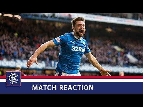 MATCH REACTION | Russell Martin | Rangers 2-0 Hearts
