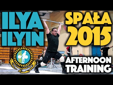 Ilya Ilyin - June 15 2015 Afternoon Workout Spała Poland