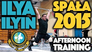 Ilya Ilyin - June 15 2015 Afternoon Workout Spała Poland
