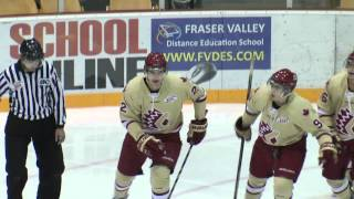 Chilliwack Chiefs vs Wenatchee Wild Highlights -October 21, 2015
