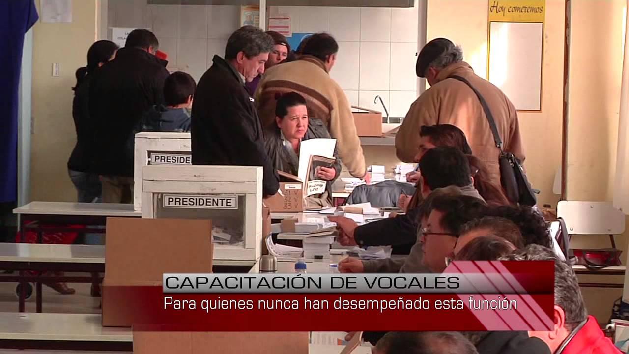 Servel publicó listado definitivo de vocales de mesa para elecciones de noviembre