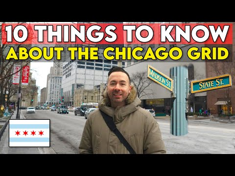 THE CHICAGO GRID EXPLAINED - Learn How To Navigate Chicago's Street System (Living In Chicago Vlog)